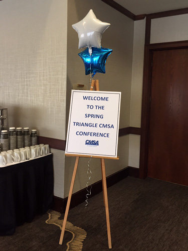Triangle CMSA Spring Conference NC